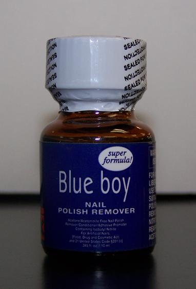 Blue Boy Popper