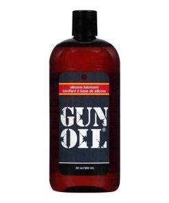 32 oz Gun Oil Silicone Lubricant Popper