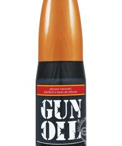 4 oz Gun Oil Silicone Lubricant Popper