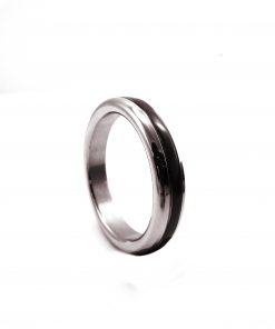 Black Cock Ring Band