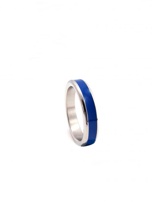 Blue Cock Ring Band